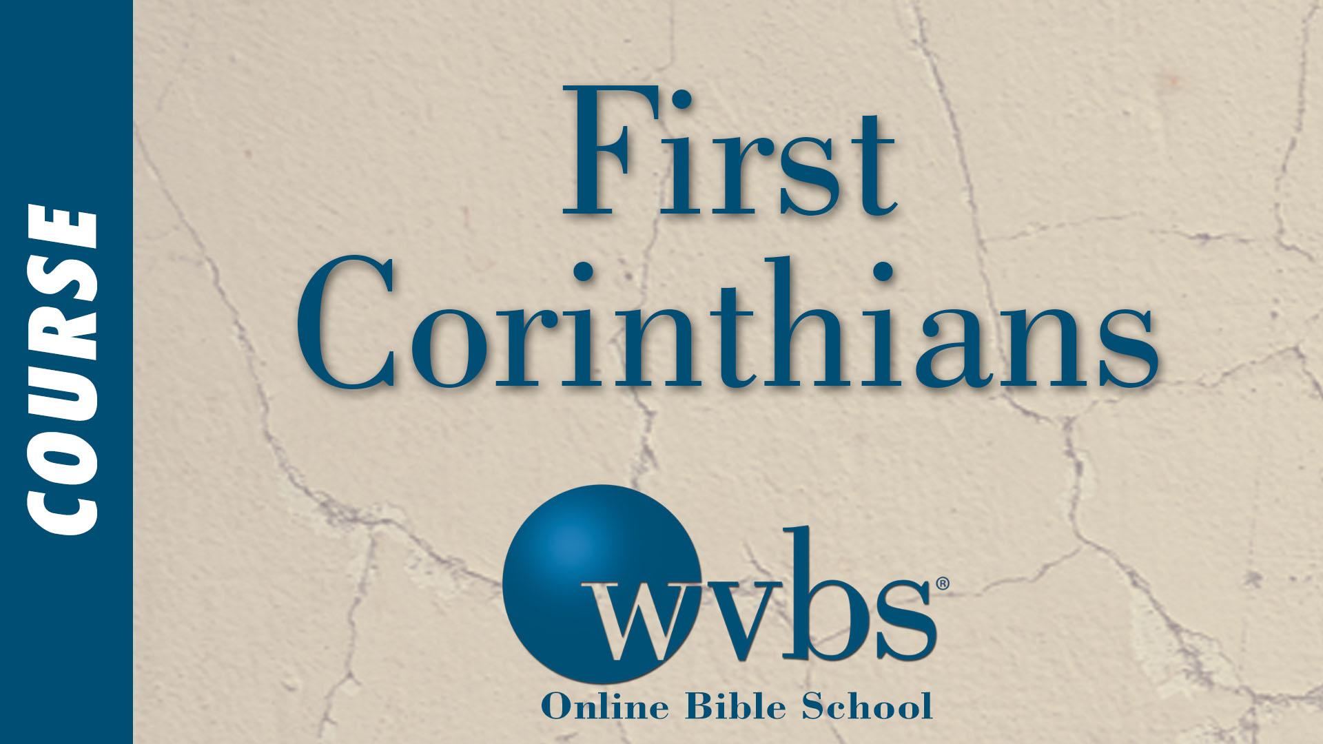 Course - First Corinthians