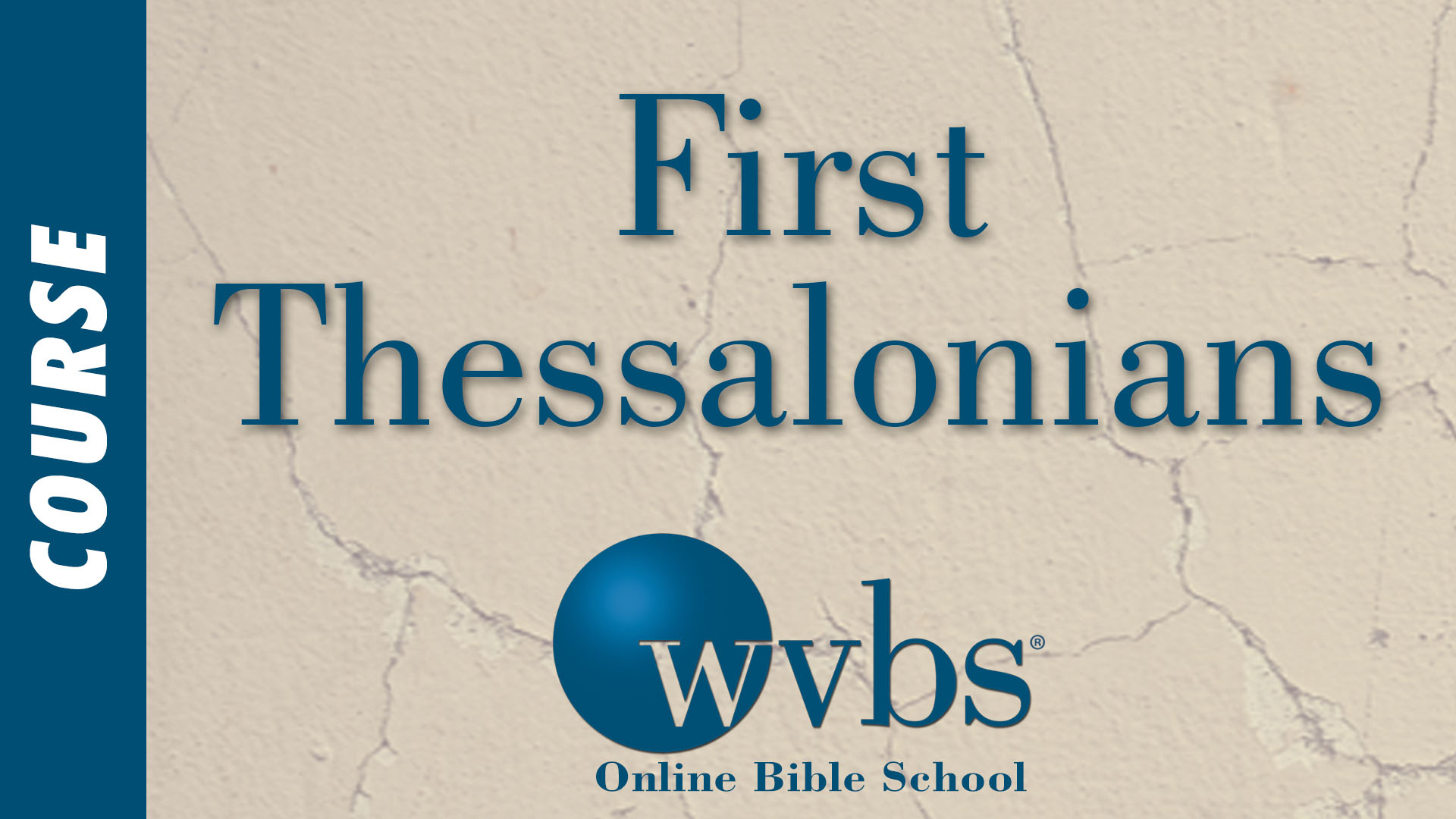 Course - First Thessalonians