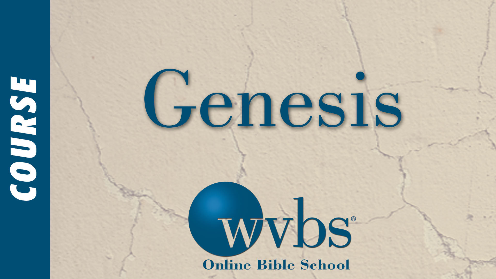 Course - Genesis