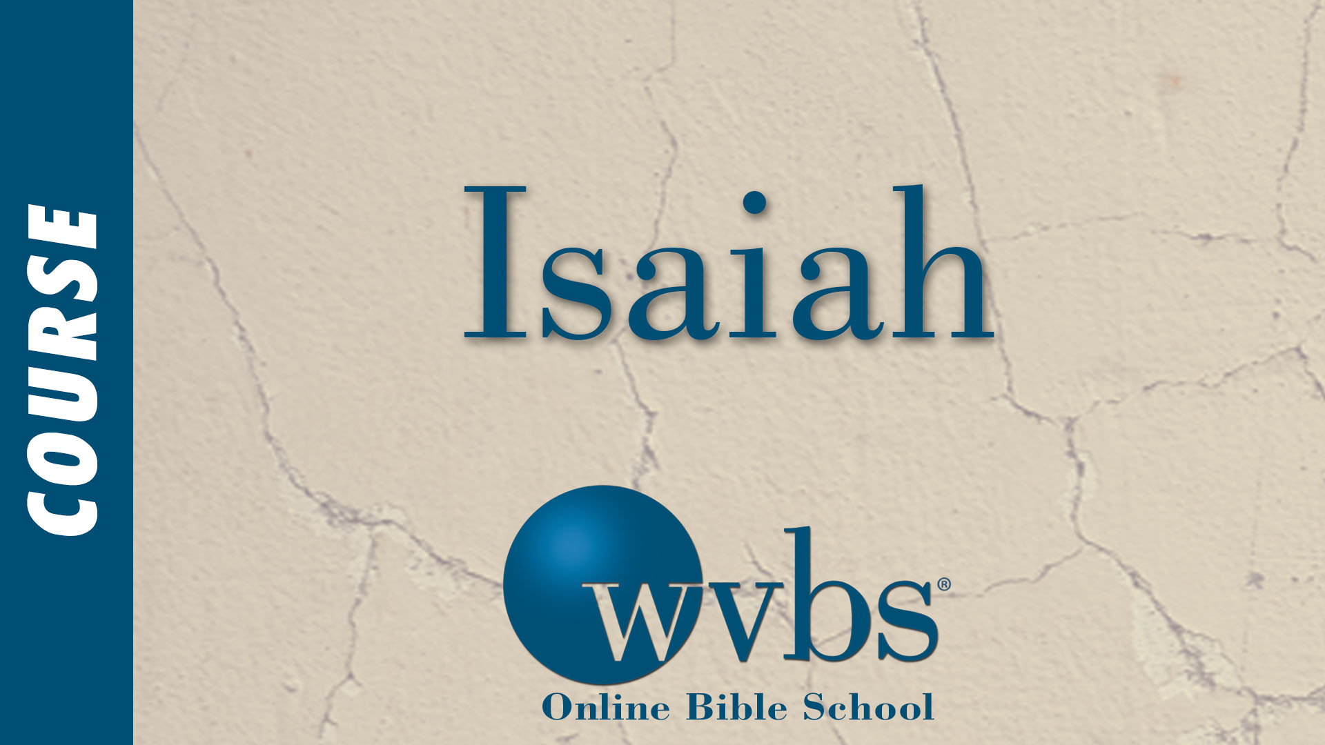 Course - Isaiah