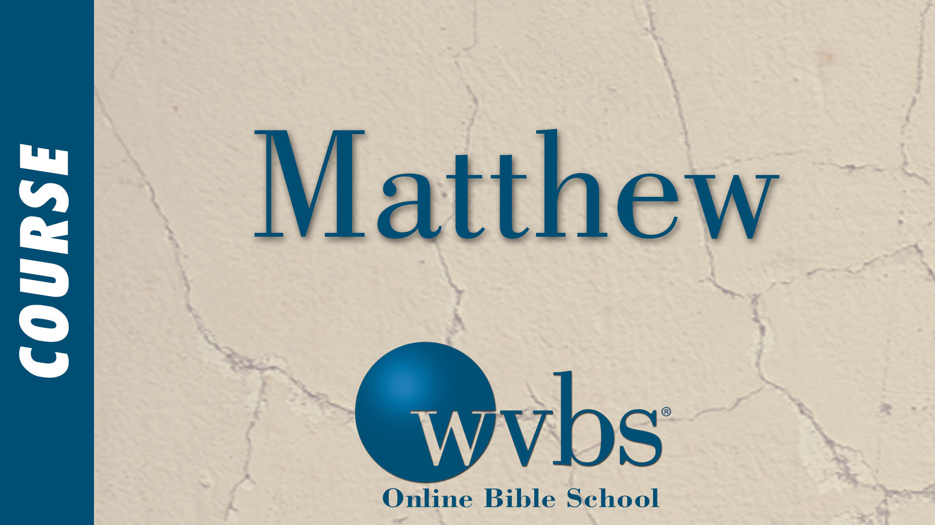 WVBS Online Bible School - Free Video Courses