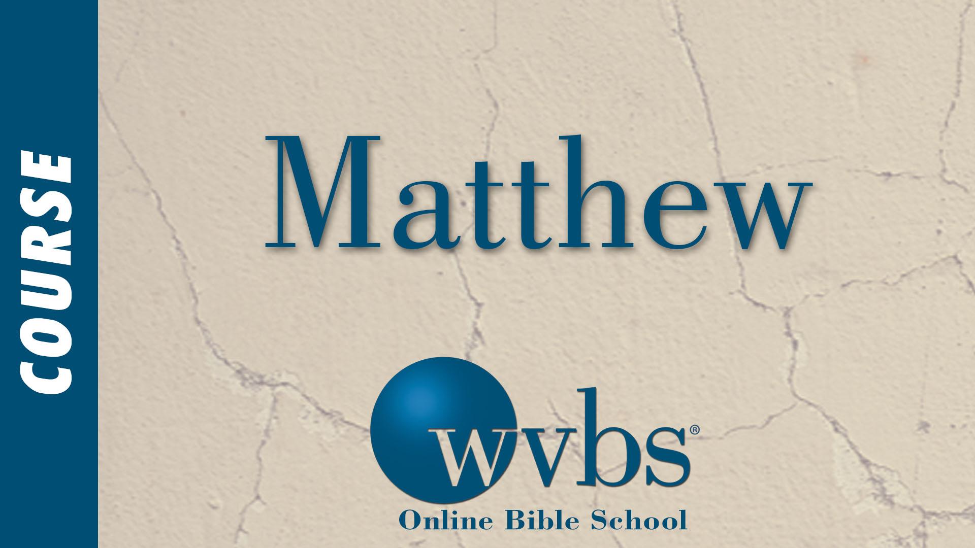Course - Matthew