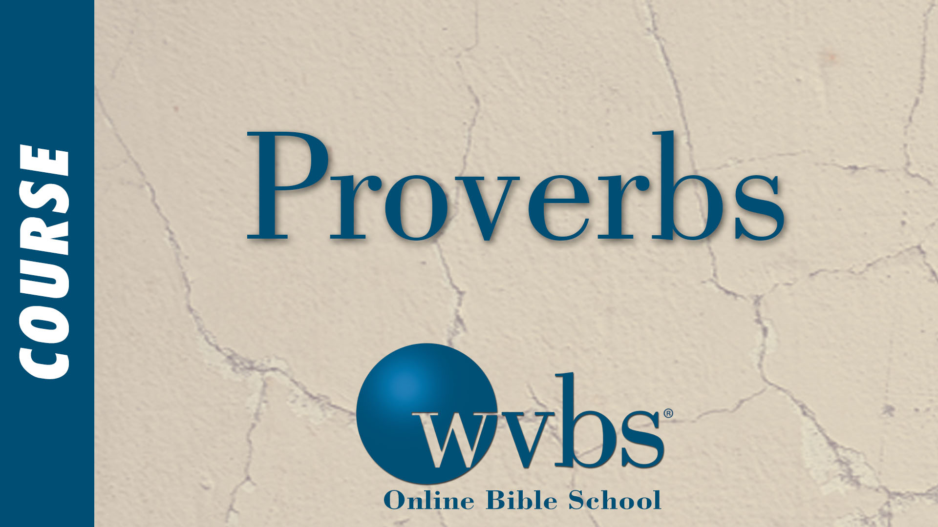 Course - Proverbs