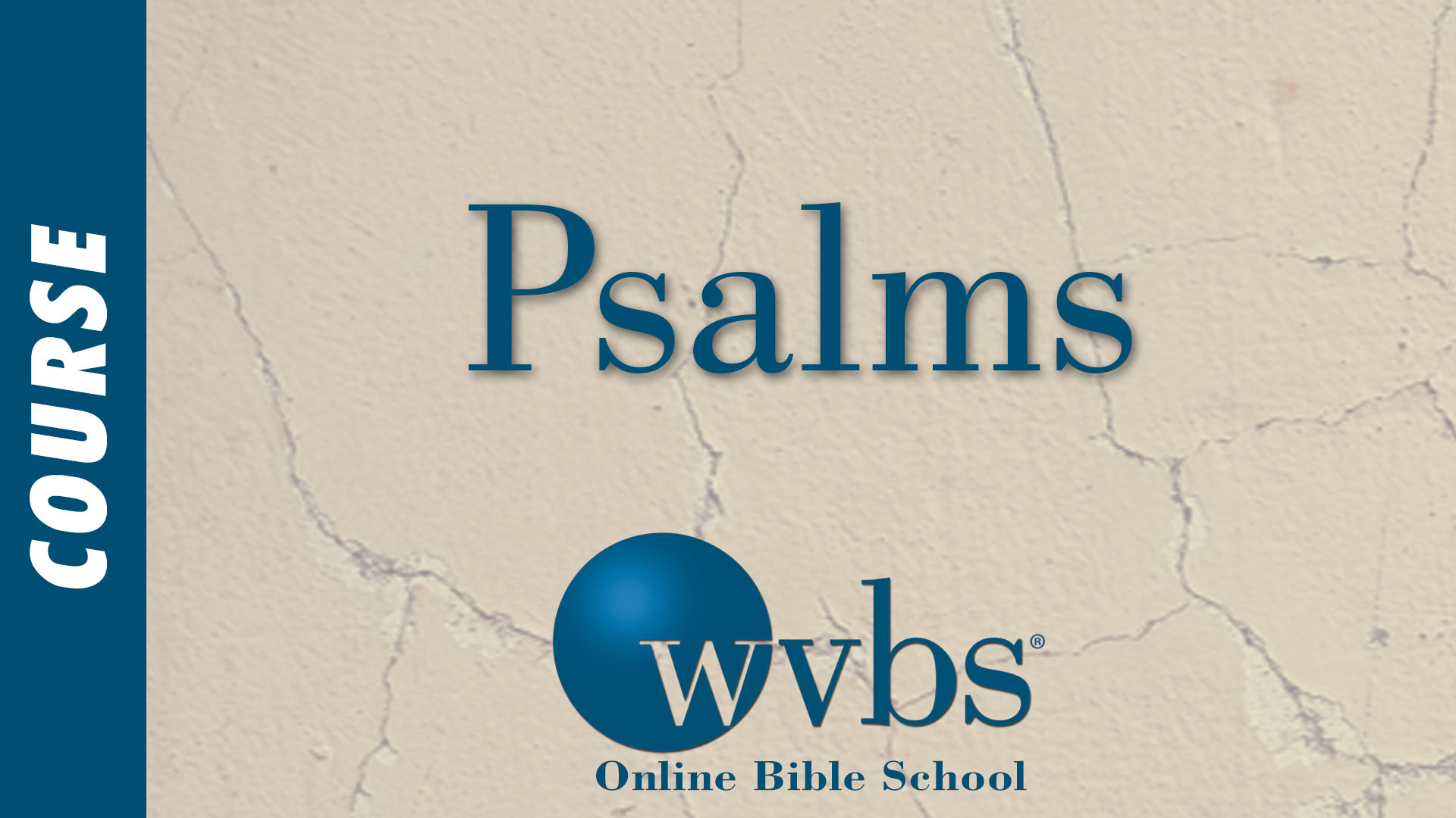 Course - Psalms