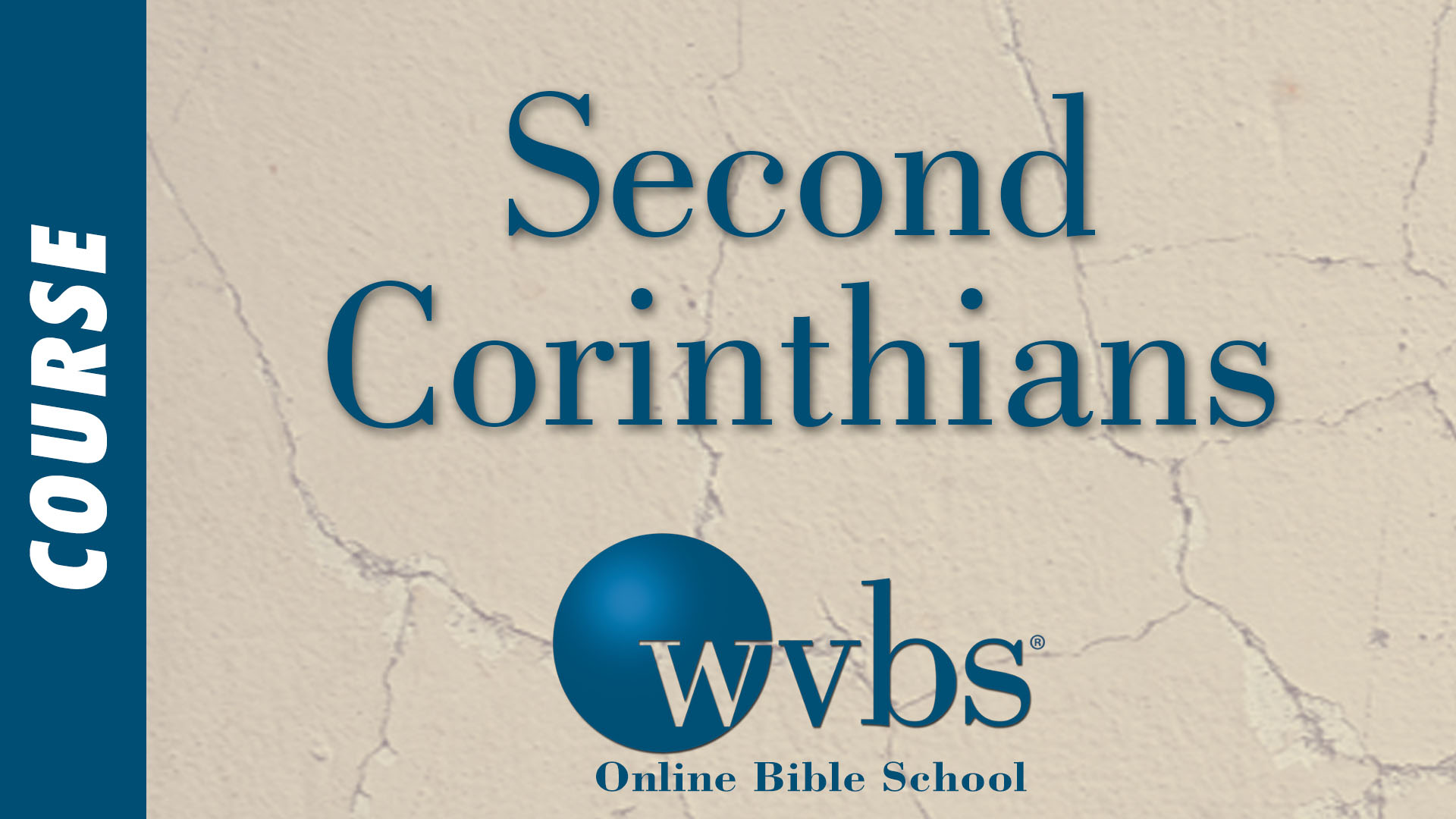 Course - Second Corinthians