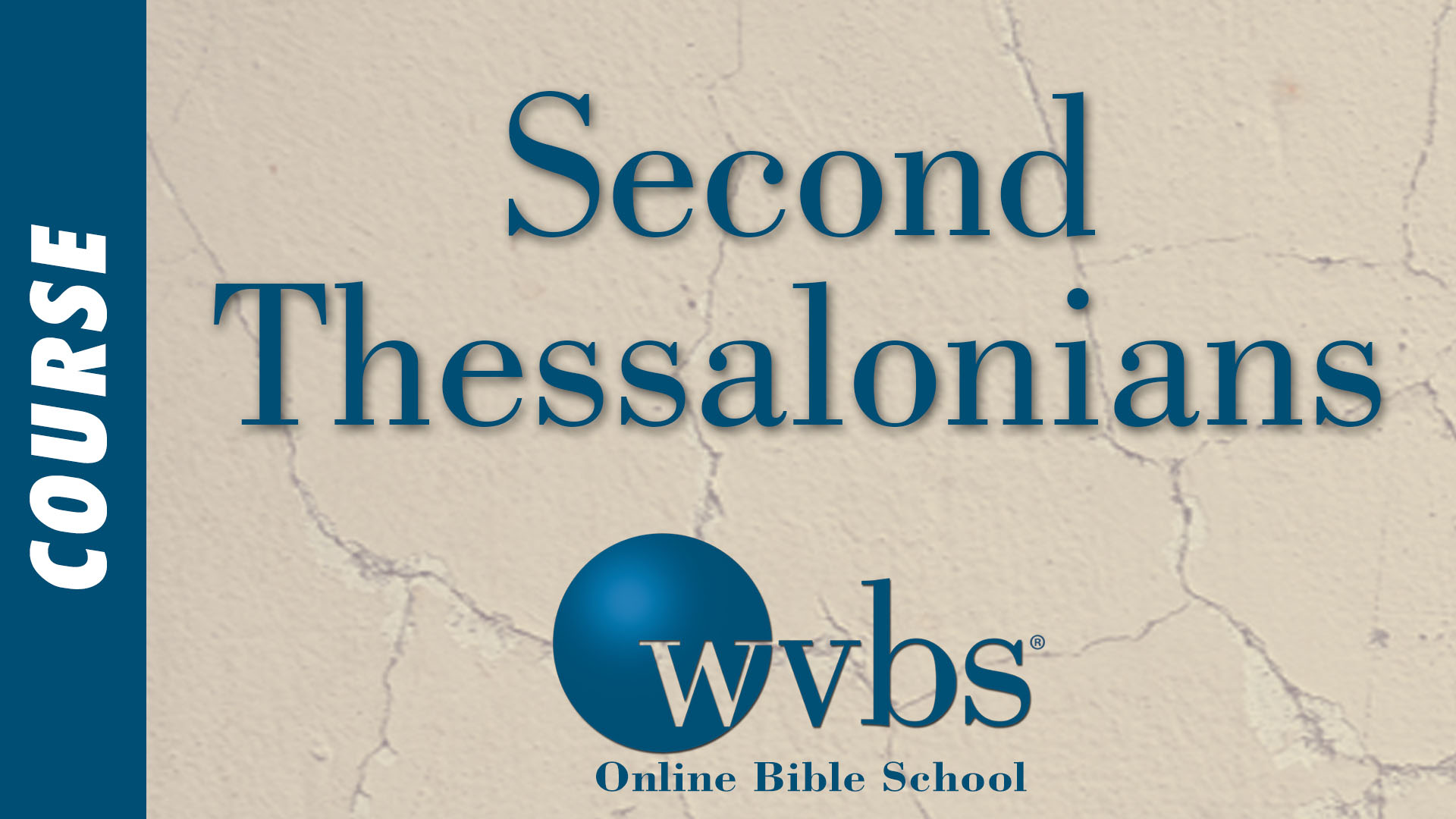 Course - Second Thessalonians