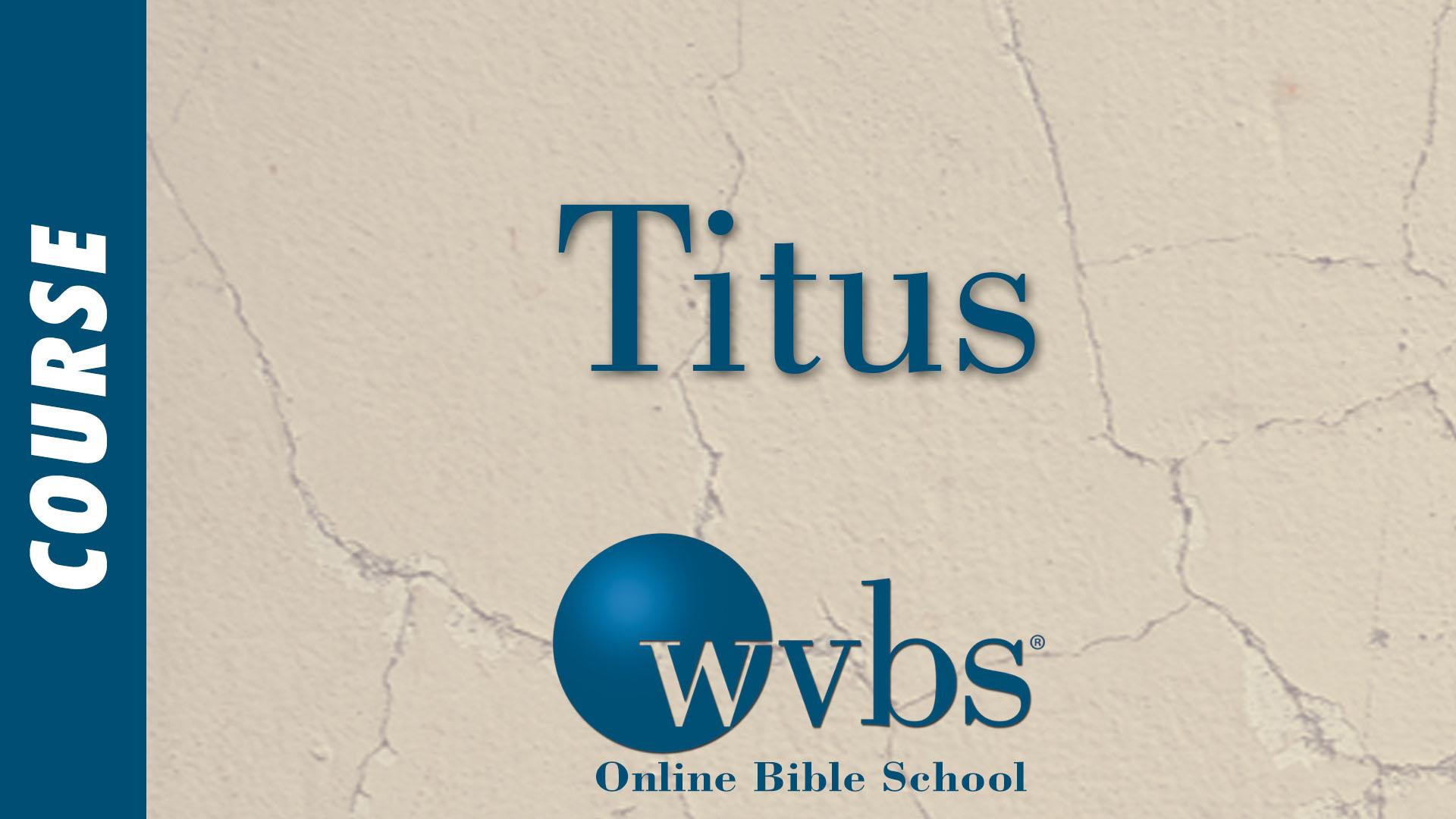Course - Titus